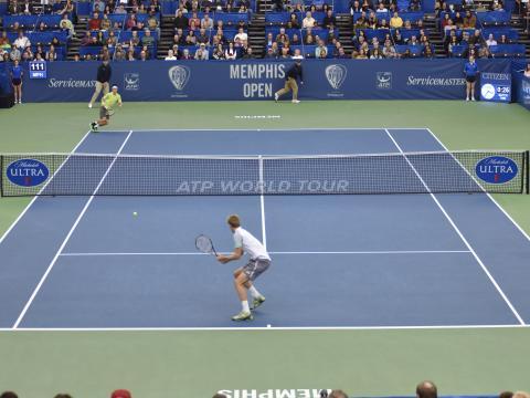 멤피스 오픈 테니스 경기