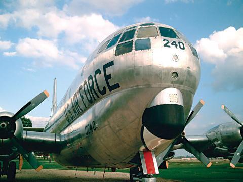박스데일 공군기지 에어 쇼에 참가한 늠름한 공군기