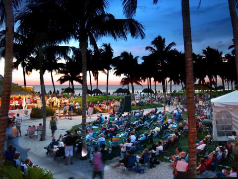 플로리다주 네이플스의 서머재즈 온 더 걸프 음악 시리즈