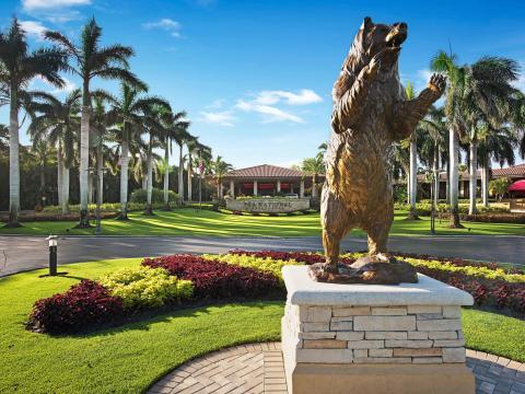 혼다 클래식 골프 경기가 열리는 플로리다주 팜비치 가든의 PGA 내셔널 골프 클럽