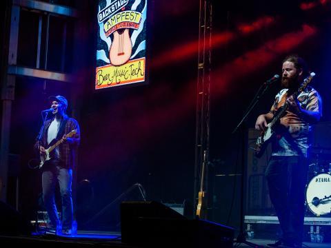 로저스 월마트 AMP(아칸소 뮤직 파빌리온)의 AMP 페스트 중 열린 콘서트